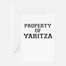 Property of YARITZA Greeting Cards
