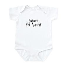 Future Fbi Agent Infant Bodysuit