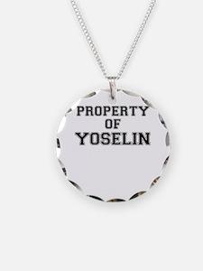 Property of YOSELIN Necklace