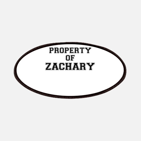 Property of ZACHARY Patch