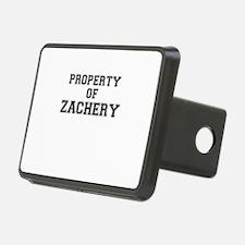 Property of ZACHERY Hitch Cover