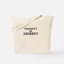 Property of ZACKERY Tote Bag