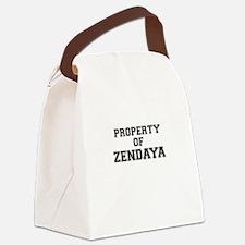 Property of ZENDAYA Canvas Lunch Bag