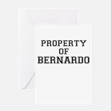 Property of BERNARDO Greeting Cards