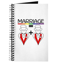 MARRIAGE EQUALS HEART PLUS HE Journal