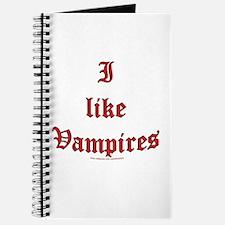 I like vampires Journal