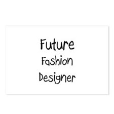 Future Fashion Designer Postcards (Package of 8)