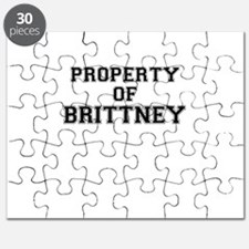 Property of BRITTNEY Puzzle