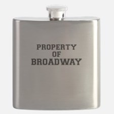 Property of BROADWAY Flask