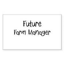 Future Farm Manager Rectangle Decal