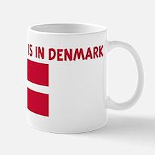 HALF MY HEART IS IN DENMARK Mug