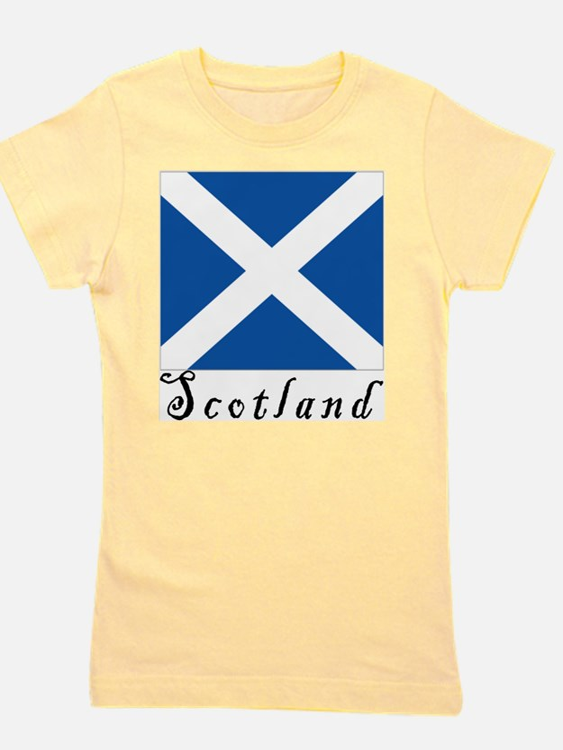 Cute Scotland Girl's Tee