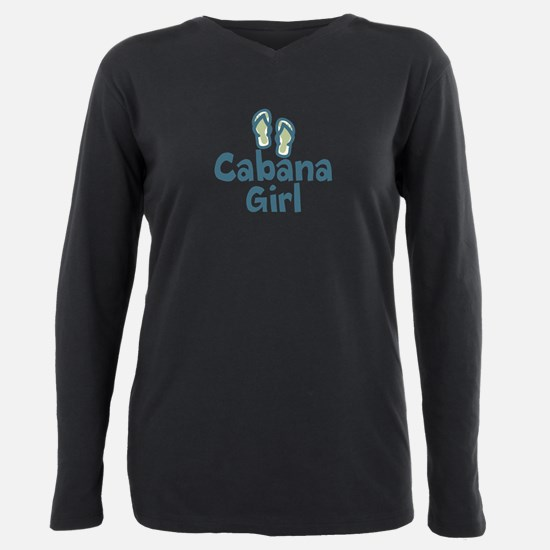 Cabana Girl Plus Size Long Sleeve Tee