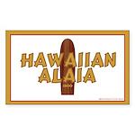Hawaiian Alaia Rectangle Sticker