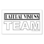 LV Rectangle Sticker