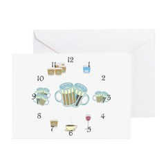 Drinking All Day Greeting Cards (Pk of 10)