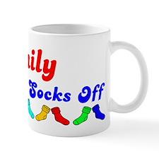 Emily Rocks Socks (B) Mug