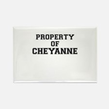 Property of CHEYANNE Magnets