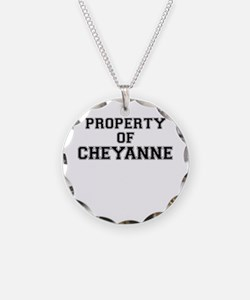 Property of CHEYANNE Necklace