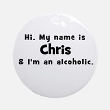 Chris Ornament (Round)