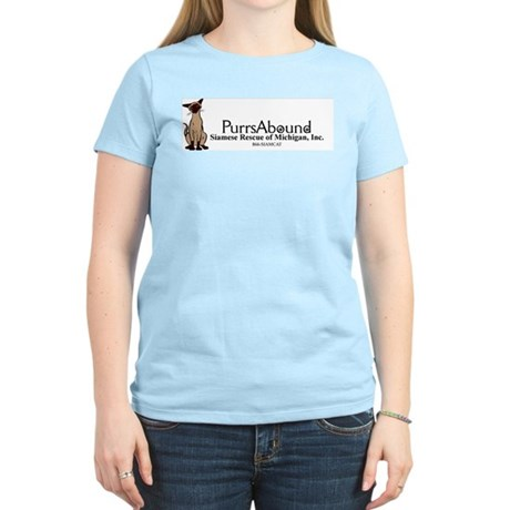 Purrs Abound Women's Light T-Shirt