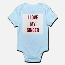 I Love My Ginger Body Suit