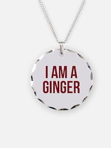 I Am A Ginger Necklace