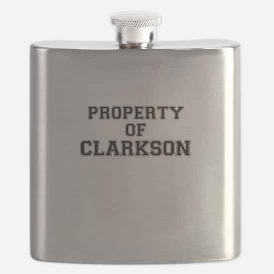 Property of CLARKSON Flask