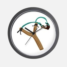 Slingshot Wall Clock