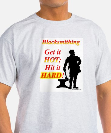 Get it hot Hit it hard T-Shirt