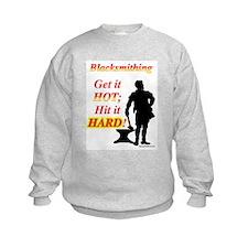 Get it hot Hit it hard Sweatshirt