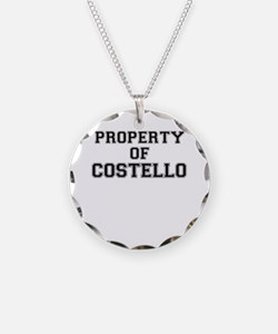 Property of COSTELLO Necklace