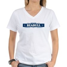 BEABULL Womens V-Neck T-Shirt