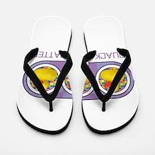 Quack Lives Matter Flip Flops