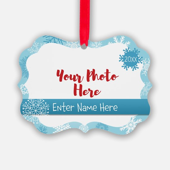 Snowflake Personalized Ornament