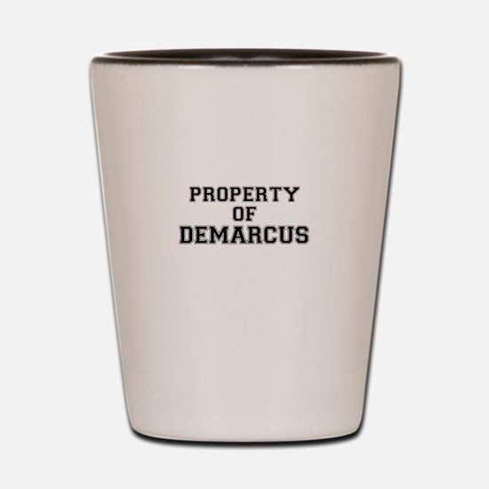 Property of DEMARCUS Shot Glass