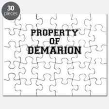 Property of DEMARION Puzzle