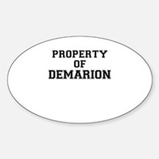 Property of DEMARION Decal