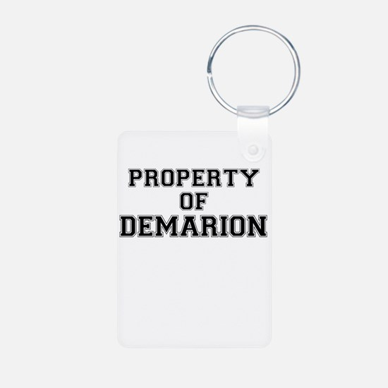 Property of DEMARION Keychains