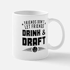Dont Drink And Draft Fantasy Basketball Mugs