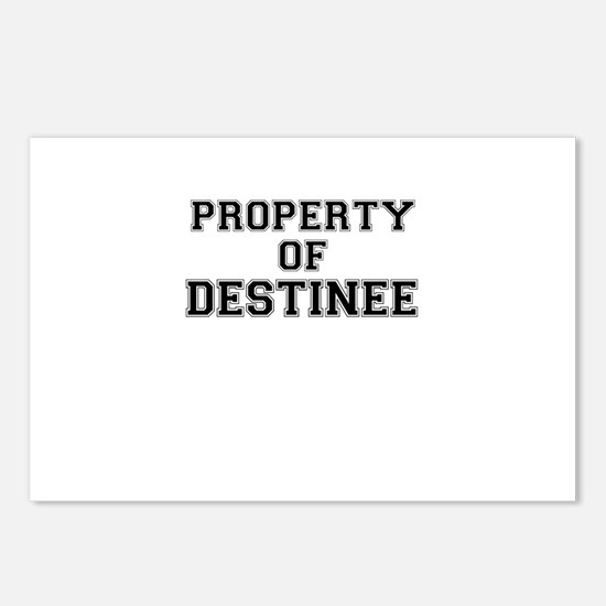 Property of DESTINEE Postcards (Package of 8)