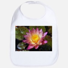 Lovely Pink Water Lily Bib