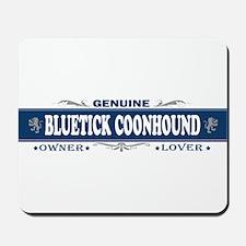 BLUETICK COONHOUND Mousepad