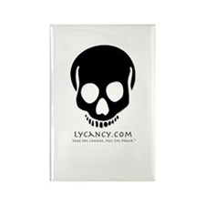 Lycancy - Symbol Ghost Rectangle Magnet