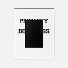 Property of DOUGLASS Picture Frame