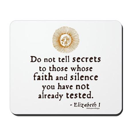 Elizabeth Trust Quote Mousepad