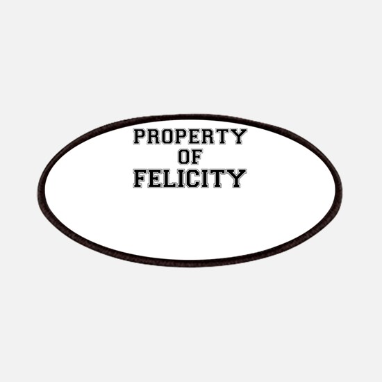 Property of FELICITY Patch
