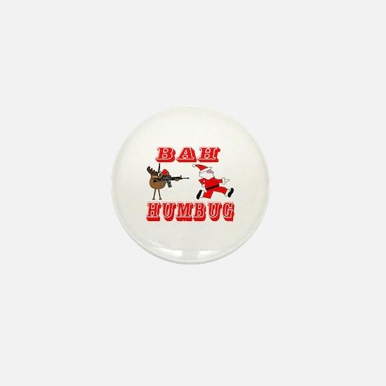 Bah Humbug Mini Button