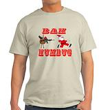Bah humbug shirts Mens Light T-shirts