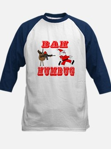 Bah Humbug Kids Baseball Jersey